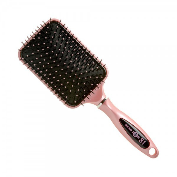 Head Jog Ceramic Paddle Brush Pink