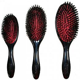 Denman Grooming Cushion 100% Boar Bristle Brushes