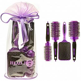 Purple Head Jog Ceramic Brush Set