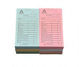 Agenda Check Pads Assorted