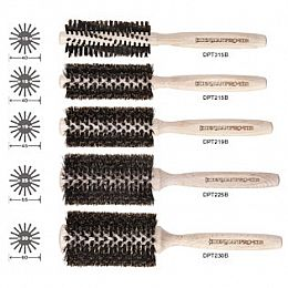 Denman Pro-Tip 100% Pure Boar Brushes