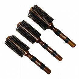 Head Jog Natural Boar Bristle Brushes